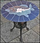 Fish Mosaic Table
