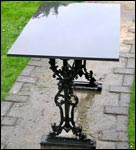 Square Topped Table